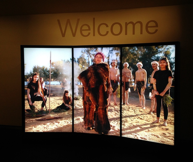 national museum of australia, canberra, gallery of first australians, ACT, indigenous history, welcome to country, exhibitions, displays,