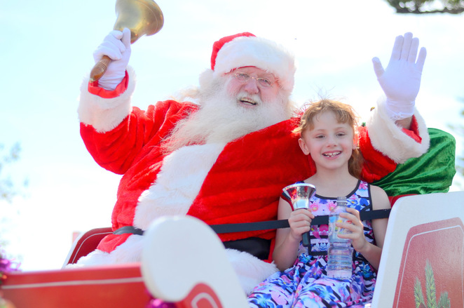 Onkaparinga 2016 Christmas Pageant Santa