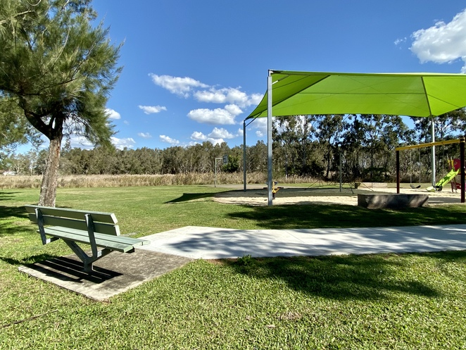 Being small and quiet, Orana Street Park has fewer facilities than some of the neighbouring parks