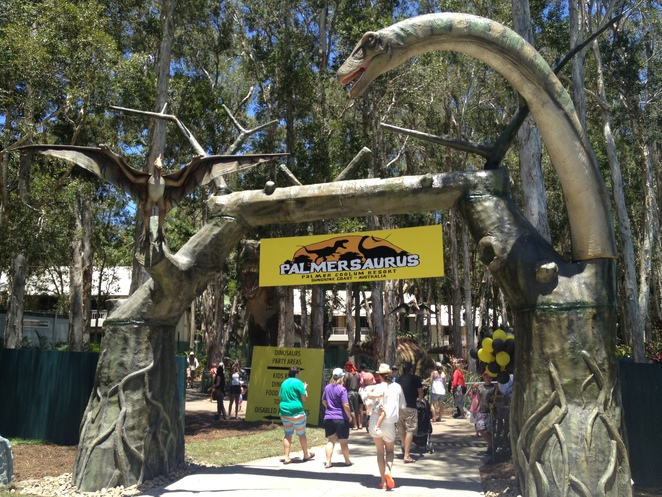 palmersaurus, dinosaur, dinosaur park, dinosaurs, tourism, sunshine coast tourist attraction, attraction, fun, kids, scary