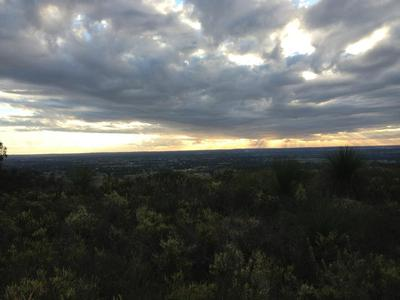Panorama, Perth Hills, Red Hill, Sunset