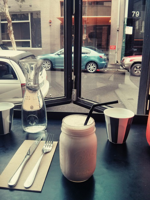 Paramount Coffee Project milkshake