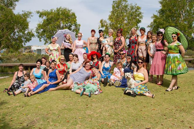 Pin Up Picnic, Logan River Parklands