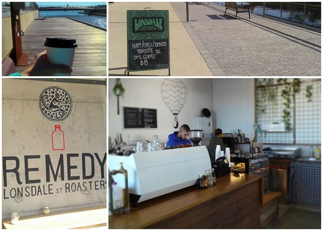 remedy, kingston foreshore, lake burley griffin, lonsdale street roasters, best coffee, hole in the wall,