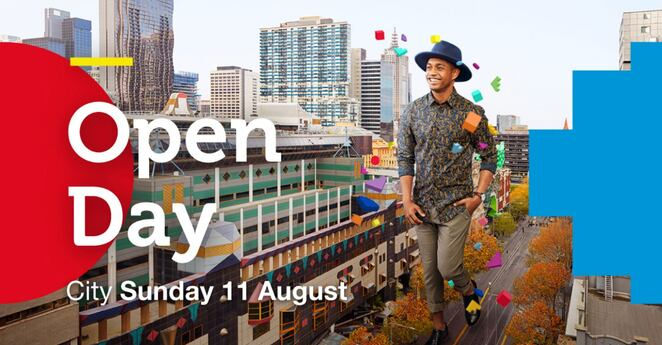 rmit open day 2019, rmit city campus, community event, education, fun things to do, student life, university, activities, flight simulator, jedi powers, baxter robot, e sports teams, mars the planet, guest lecturers, careers, employment, rmit university