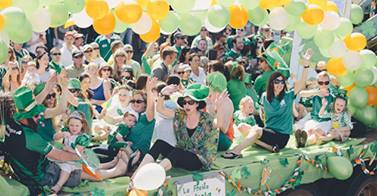 Image Courtesy of the St. Patrick's Festival WA facebook page