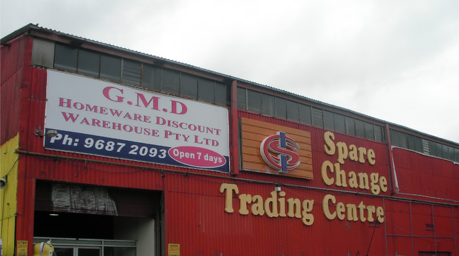 spare change,gmd homeware discount,warehouse,red