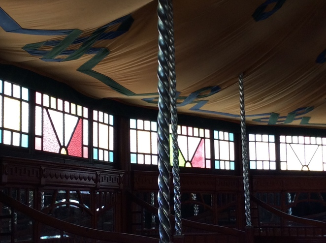 The Melba Spiegel Tent, Collingwood, Holiday Activity