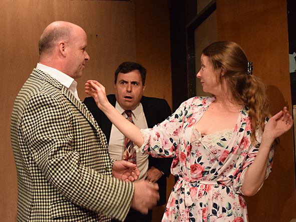 Touch and Go, Alice Dale, Garrick Theatre, Isaia, Derek Benfield