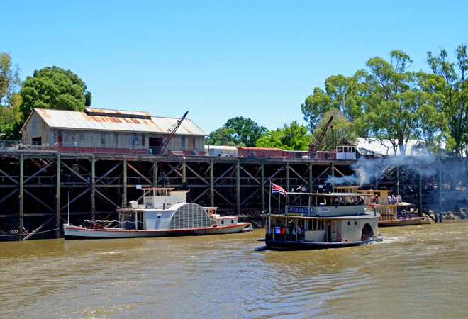 Victoria South Australia Echuca Swan Hill Yarrawonga Mildura Renmark Murray River Paddlesteamer Paddlesteamers Travel Get Out Of Town Escape The City