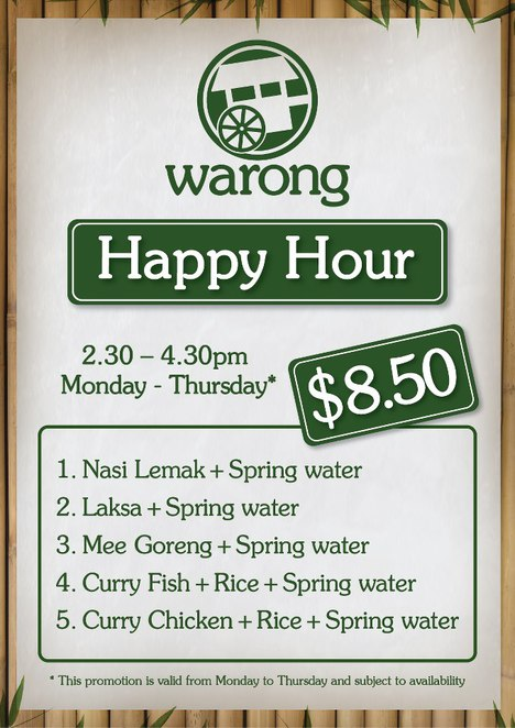 Warong Happy Hour