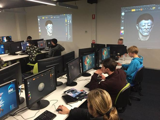 Academy of Interactive Entertainment, school holidays, canberra, october, 2018, whats on, programs, workshops, animation, ACT, teenagers, computer animation, school holiday programs,