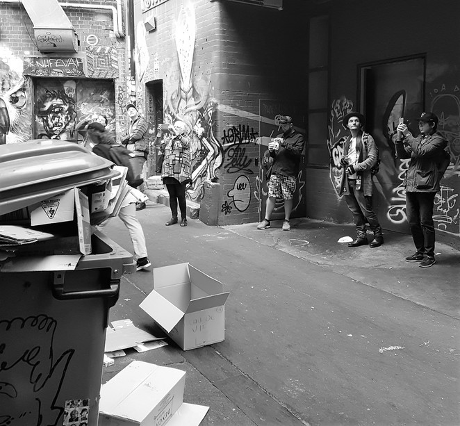 ACDC Lane, street art, Melbourne, walking tour