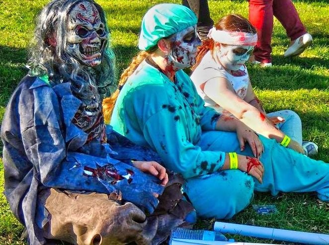 adelaide zombie walk, adelaide zombie walk 2017, zombie walk, in adelaide, rundle park, free, foodbank sa, market stalls, fun for kids