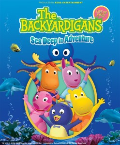 backyardigans, Live on stage, theatre for kids, musical, dance