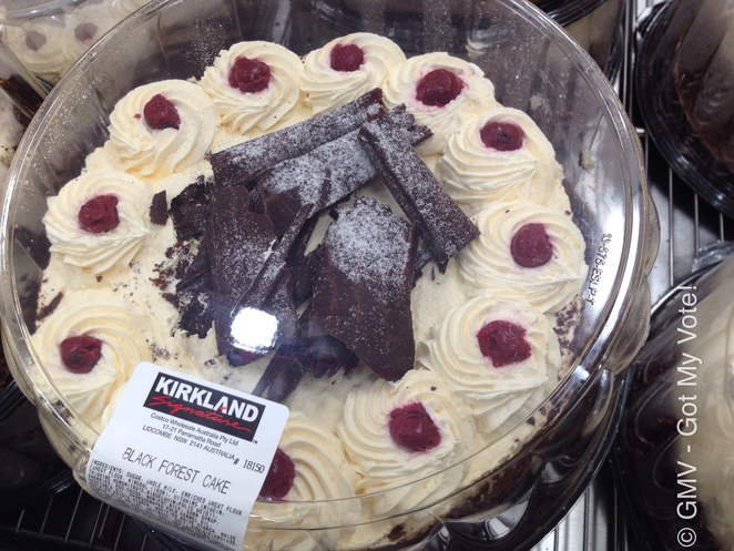 Black Forest, Cake, Large, Costco