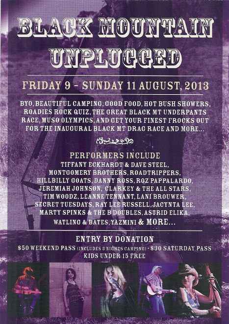 Black Mountain Unplugged, Black Mountain qld, festivals qld, farth north qld, music, outback