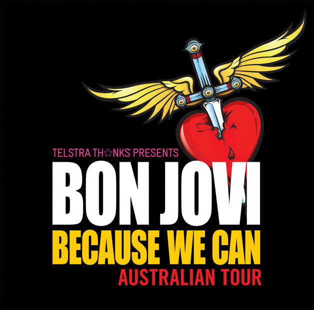 bon jovi 39 because we can 39 tour perth perth. Black Bedroom Furniture Sets. Home Design Ideas