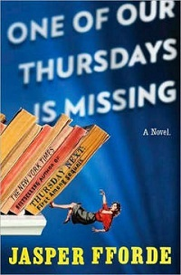 book, cover, one of our thursdays is missing