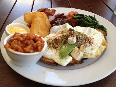 Brace yourself - the Big Breakfast here really is big