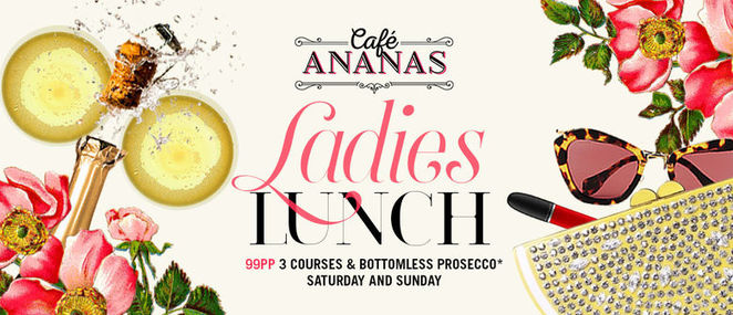 cafe ananas, girlie lunches, ladies who lunch, lunch venues, set menus