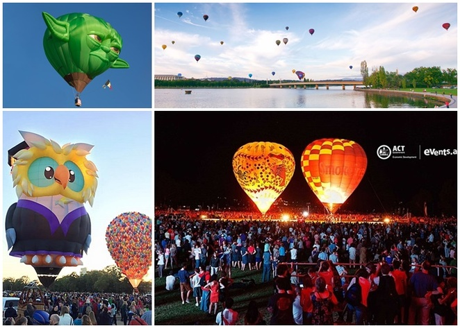 canberra balloon spectacular, canberra, ACT, hot air balloons, festivals, events, best event, best festivals, 2018, 2019, 2020, canberra, events ACT,