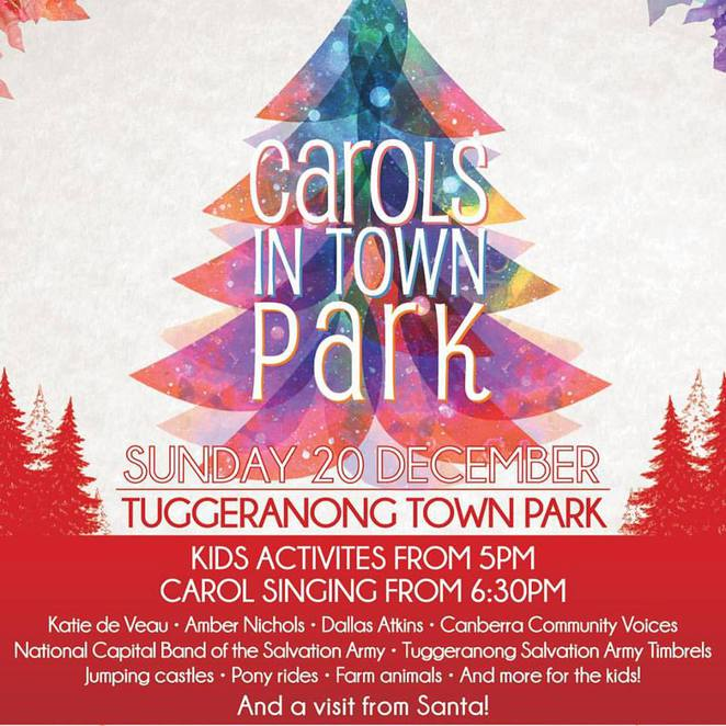 Carols in Town Park, Canberra, 2015 Carols in Town Park, Christmas Carols in Canberra 2015, Tuggeranong Town Park,