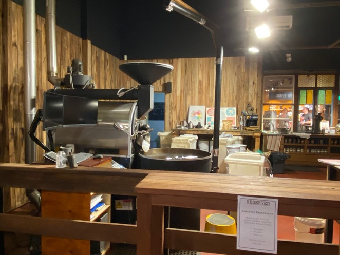 coffee roasting swan valley coffee lunch