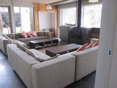 Comfortable large living areas
