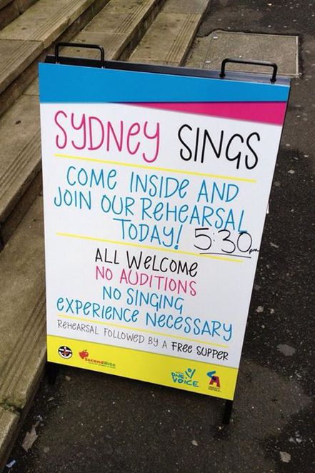 creativity australia sydney sings