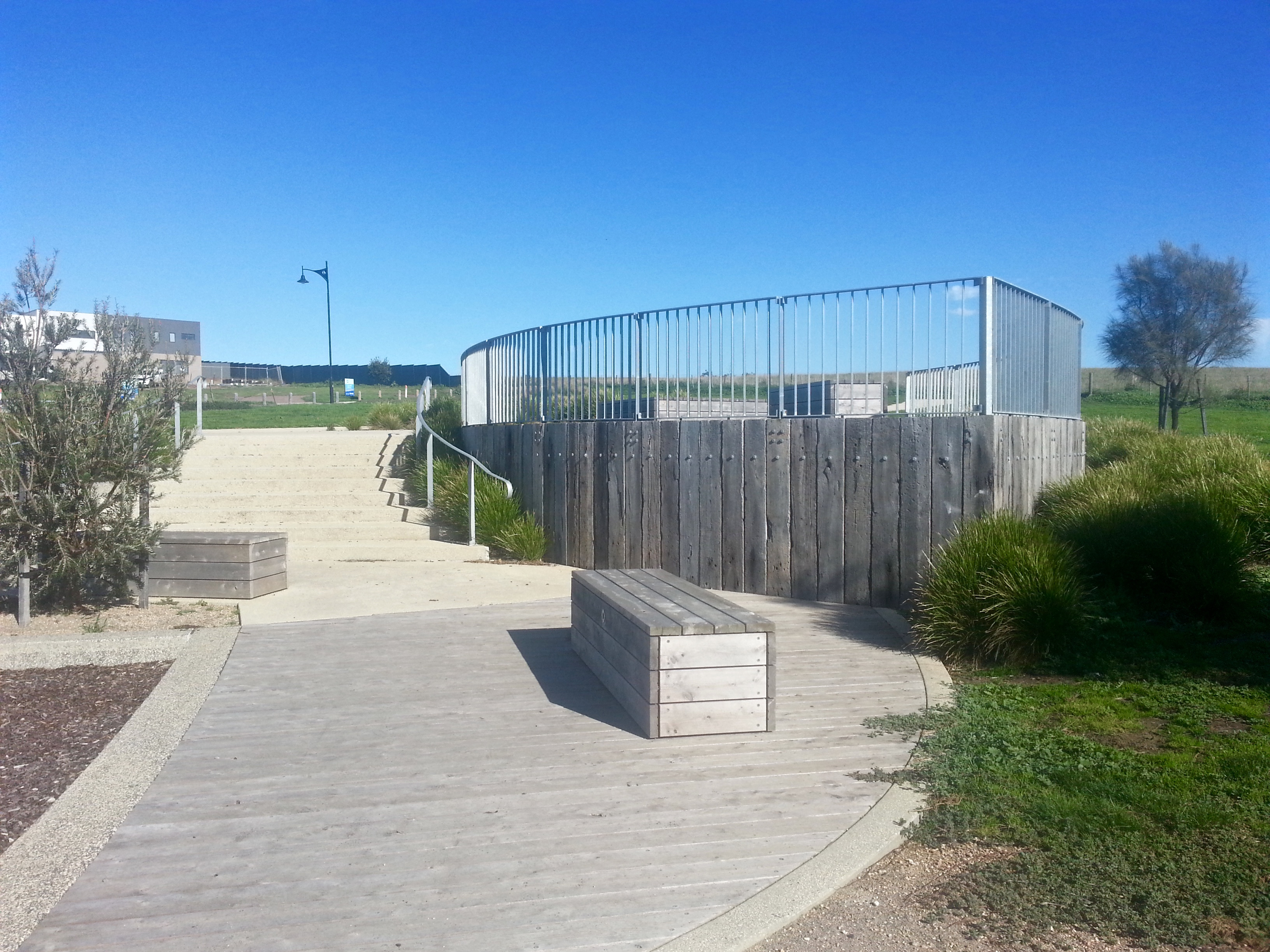 beach vista drive playground and lookout  curlewis