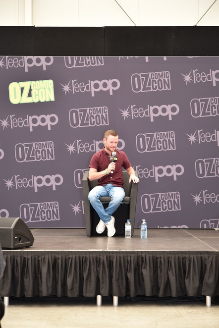 Devon Murray, Seamus Finnigan, Harry Potter, Oz Comic Con Brisbane, Comic Con, Things to do, Brisbane