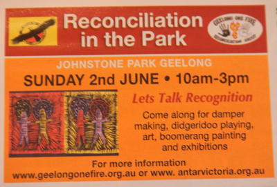 Reconciliation In The Park 2013