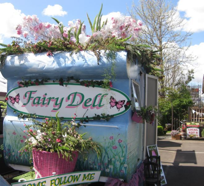 Fairy Dell participated in the Carnival of Flowers parade 2015.