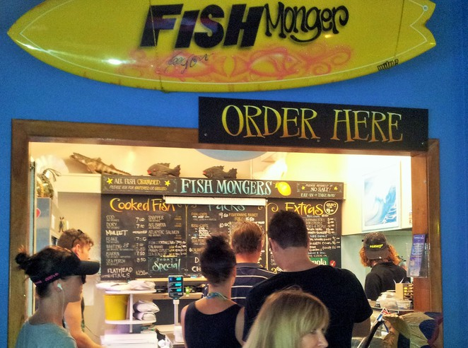 fish and chips, fish n chips, fish-n-chips, gold coast, fish market, peters fish market, Burleigh heads fishmongers, lolas broadbeach, main beach, Sorrento