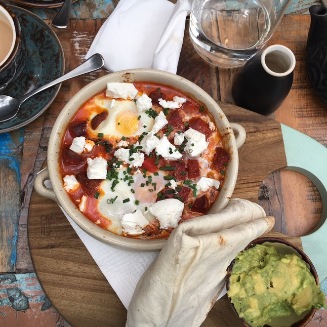 glacade, middle eastern, brunch, bankstown, shakshuka, baba ganoush