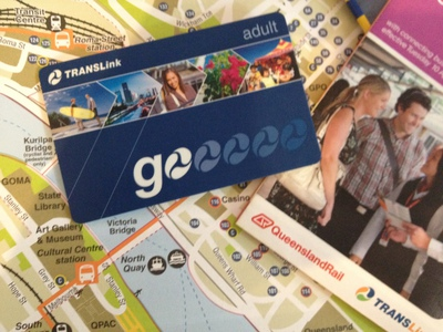 Go Card, Free, Brisbane Travel, City Cat, Train, Bus