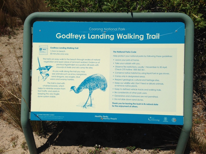 Godfreys Landing Walking Trail Information