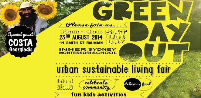 green day out, urban sustainability, free, community event, kids activities