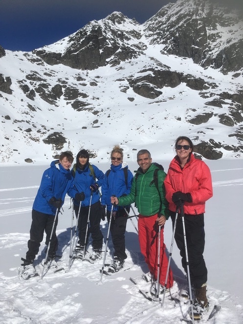 Guided Walks NZ, Remarkables, snowshoeing