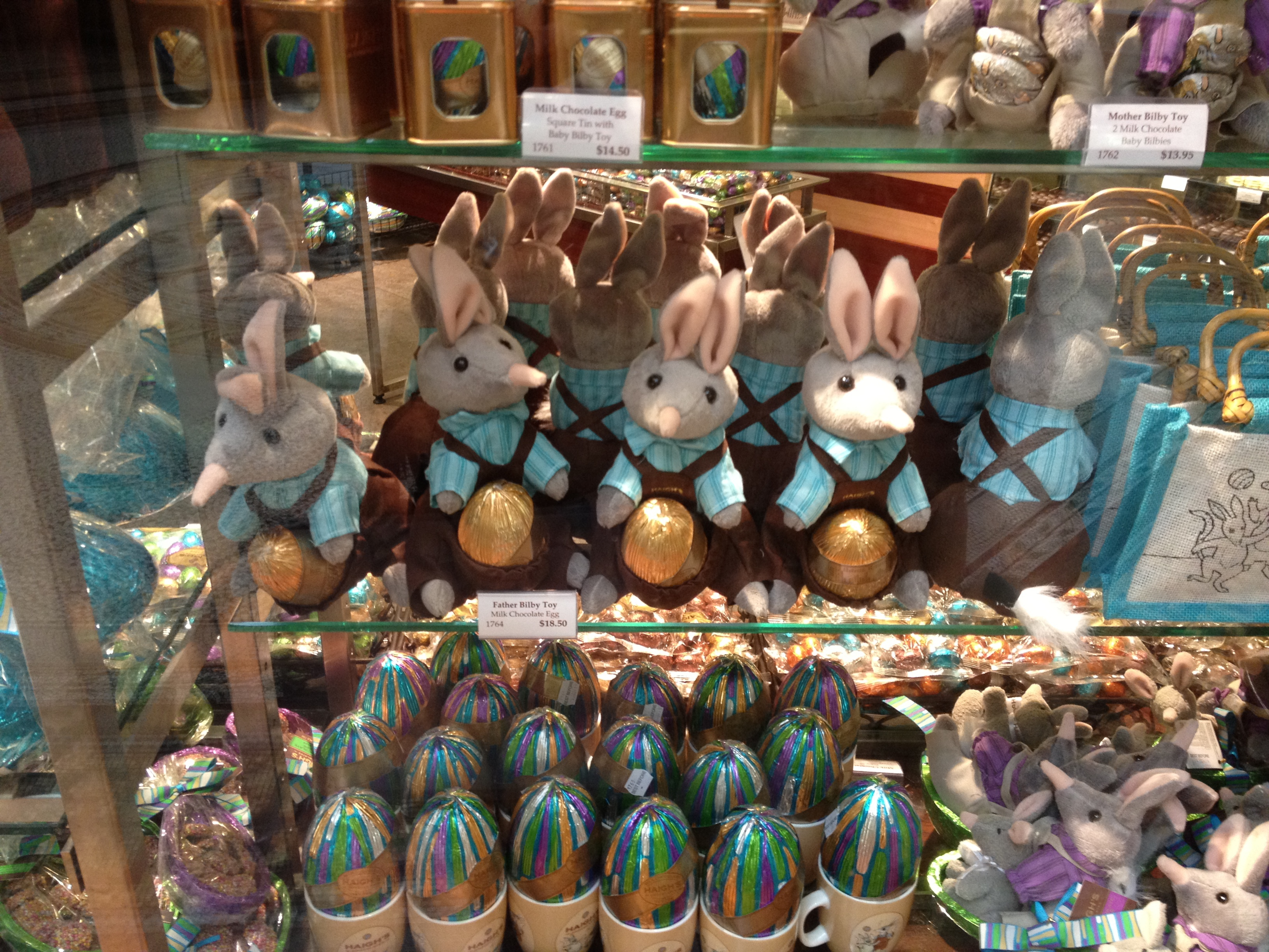 Where is melbournes best easter egg melbourne haighs easter bilby negle Gallery
