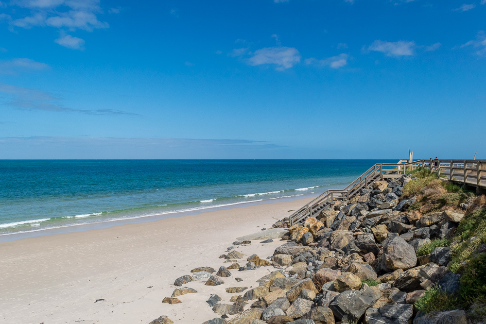 Henley Beach To Glenelg Walk Adelaide
