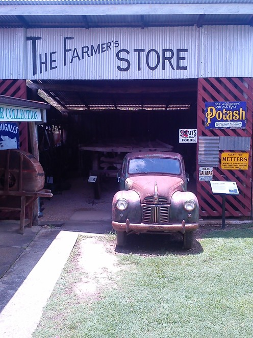 historic village herberton, things to do near Cairns, outdoor museum, vintage vehicles, collectibles and antiques