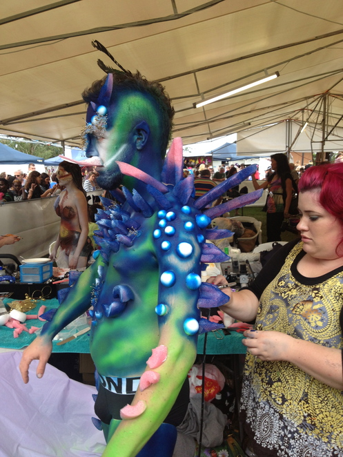 eumundi body art comp