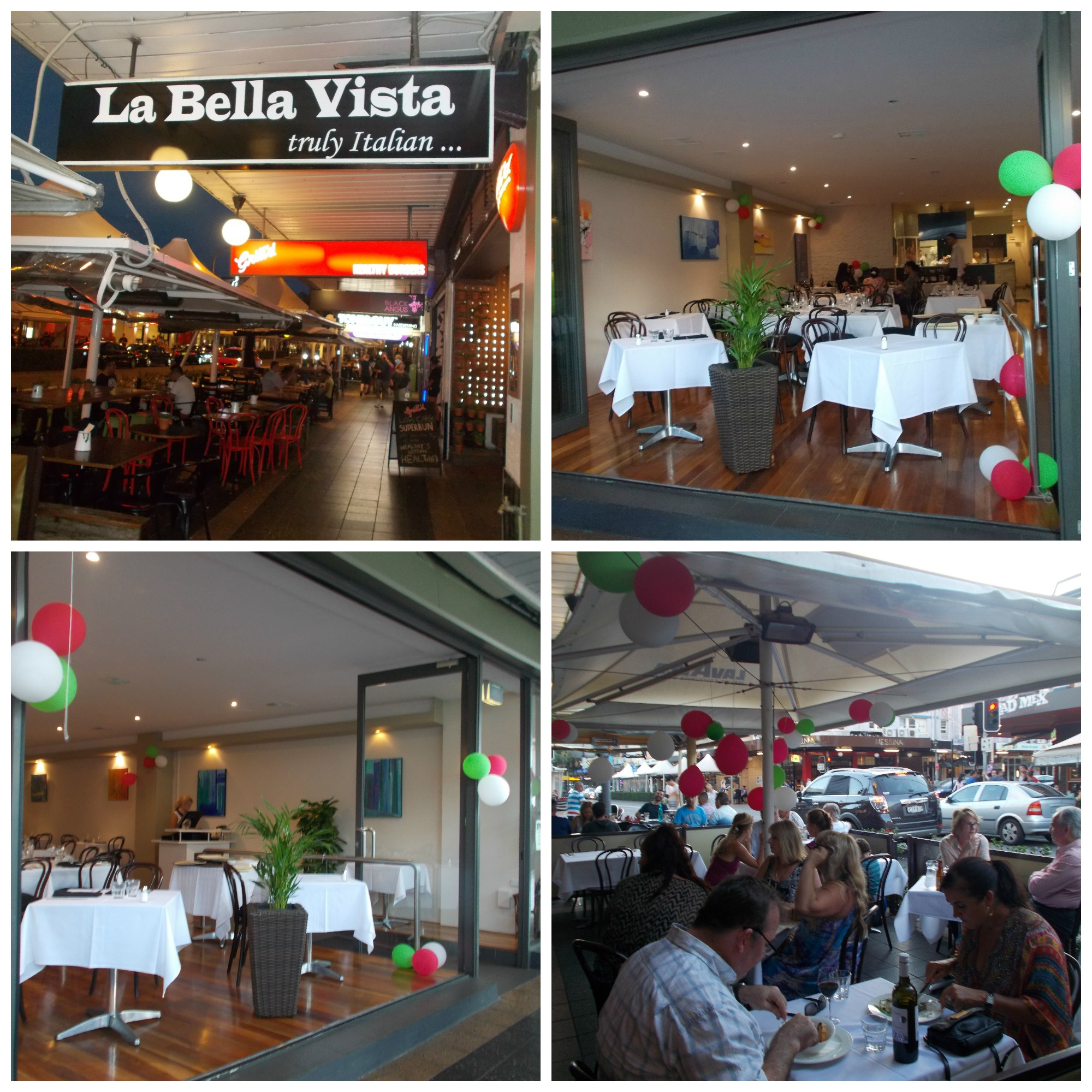 La bella vista restaurant sydney for Ristorante la vista