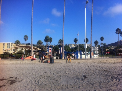 La Jolla Shores beach playpark San Diego