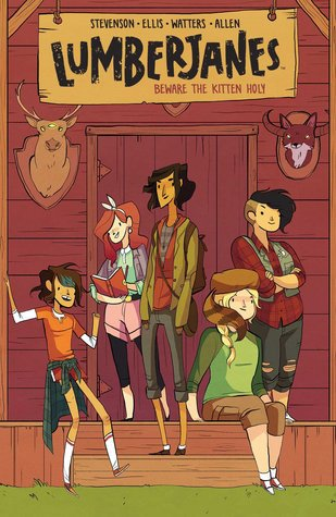 lumberjanes, comic, young adult comics, beware the kitten holy