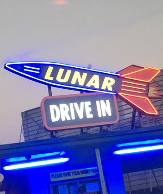 Lunar Drive In, Dandenong, Movies