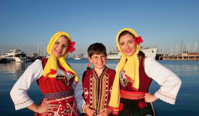 Macedonian cultural festival Williamstown
