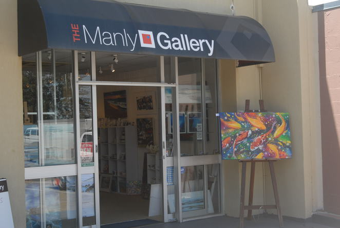 Manly Harbour; gallery; art